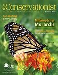 monarch butterfly on cover of summer 2015 Conservationist