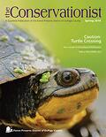 Blanding's turtle on cover of spring 2016 Conservationist