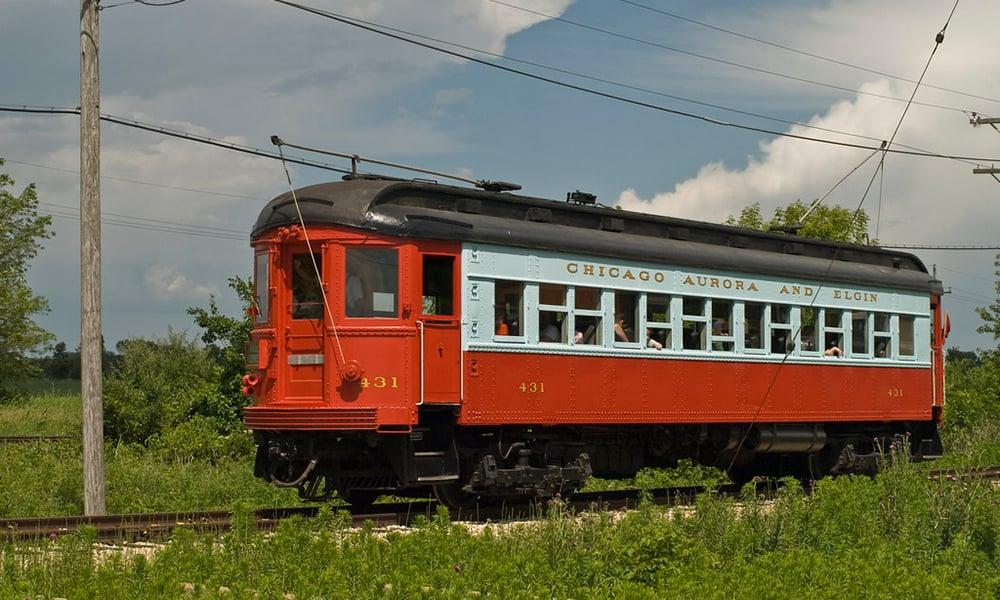 Chicago-Aurora-and-Elgin-Railcar