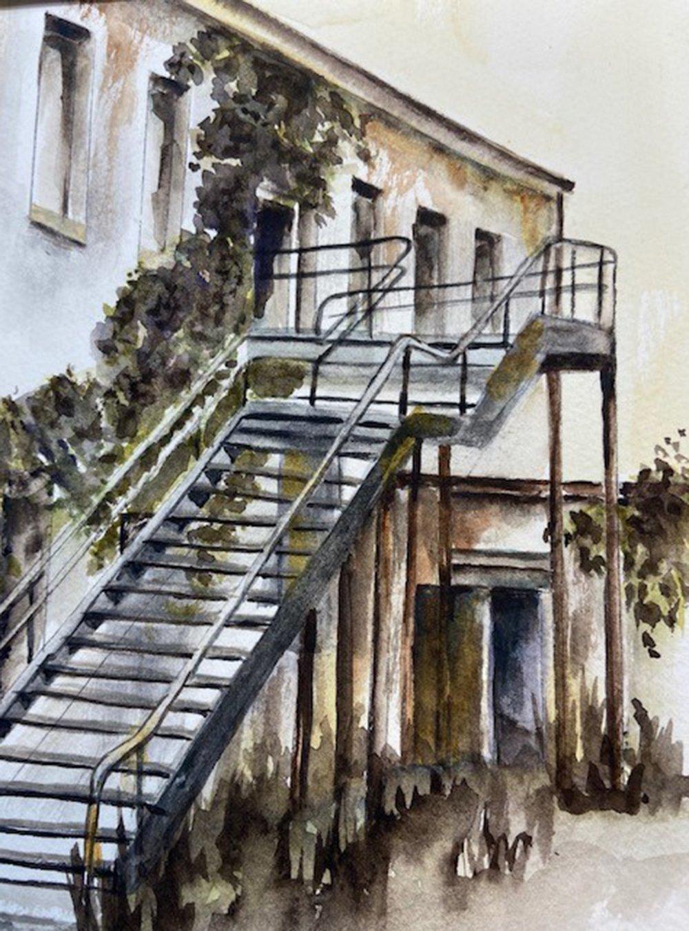 5-The-Back-Stairs-Linda-Schmitt