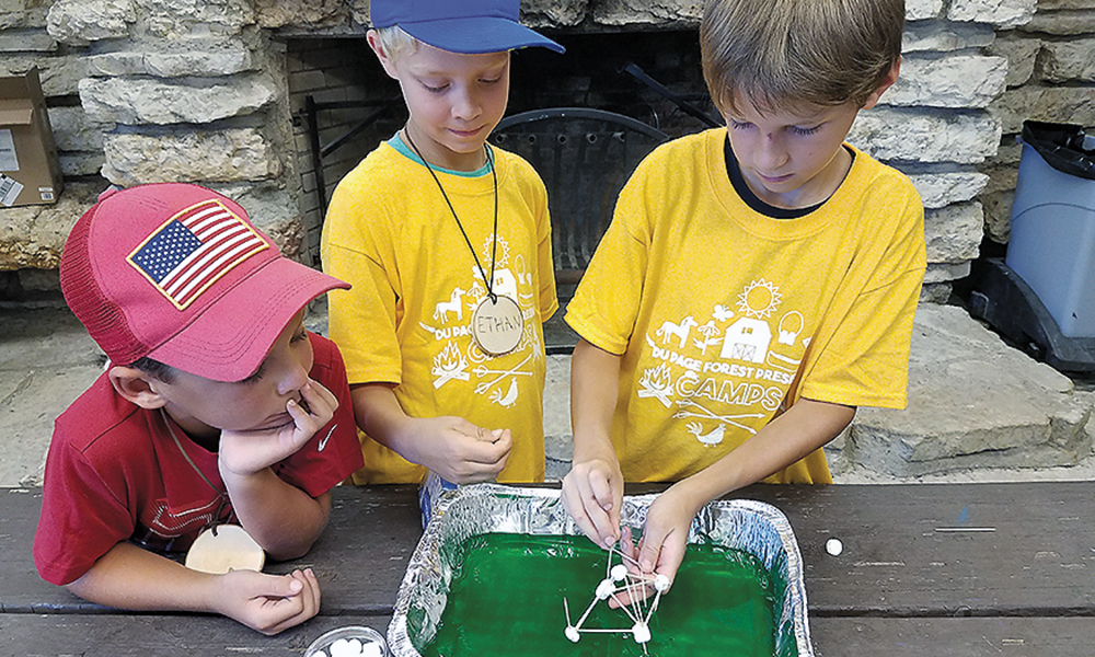 campers-with-science-project