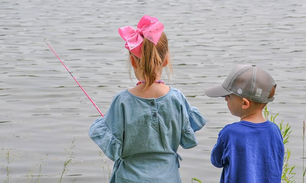 bow-girl-boy-fish