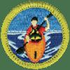 kayaking-badge