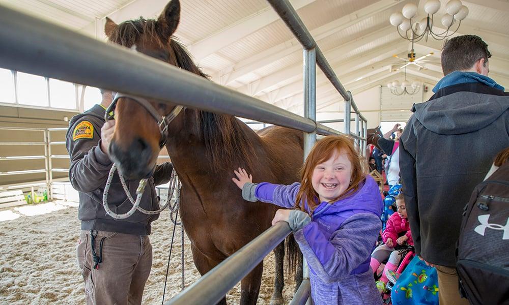 girl-horse