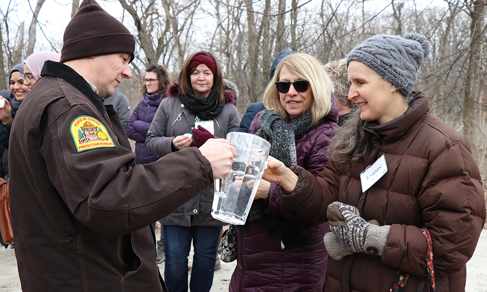 naturalist-dave-andrusyk-pours-sap