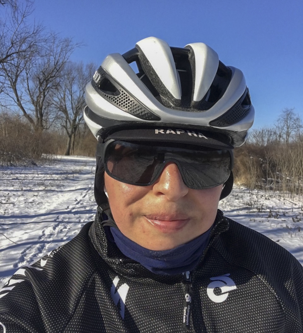 Isabel-skiing