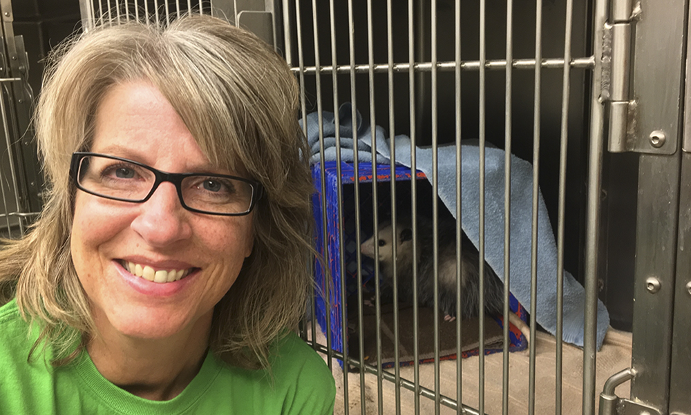 Janet-with-opposum
