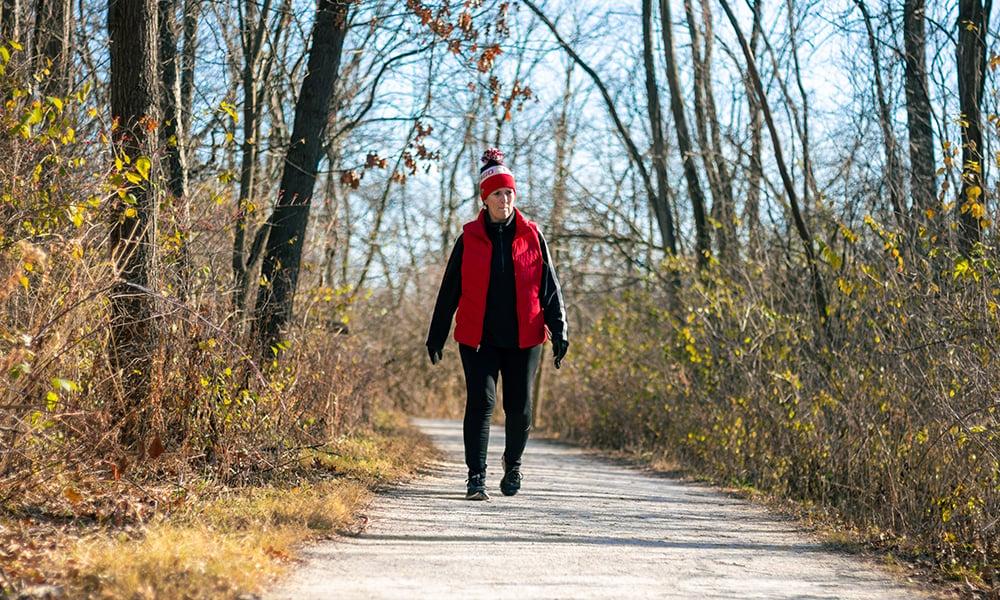 Paula-walking