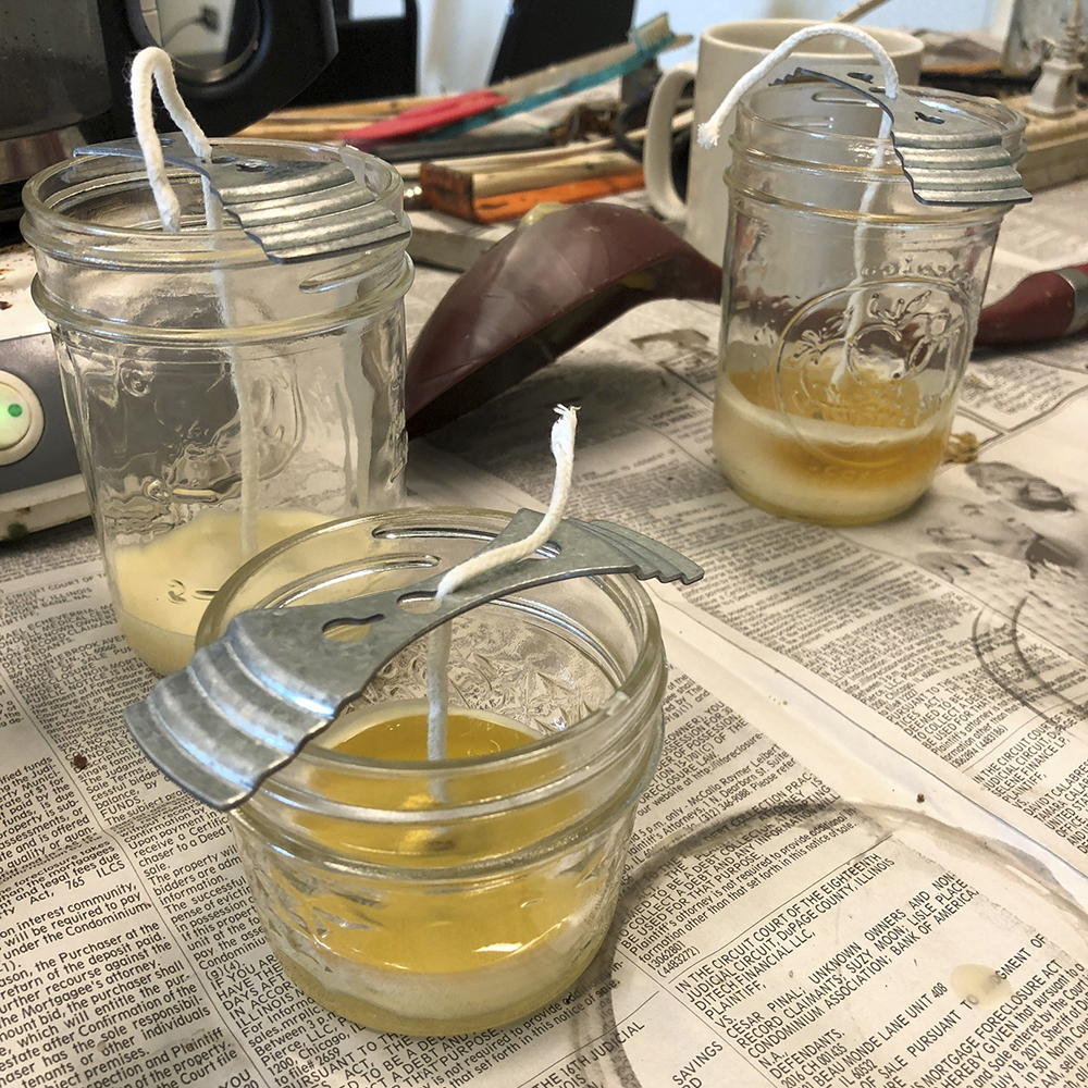 wax-jars
