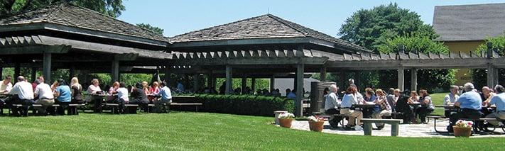 St. James Farm pavilion
